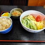 京楽食堂 - 料理写真:日替わりランチ@¥650