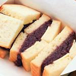 小倉と有塩バターのサンドイッチ