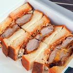 国産豚のヒレカツサンドイッチ