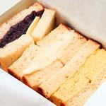 ミックスサンドイッチ(小倉、ポテト、玉子)