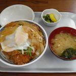 石井食堂 - かつ丼 700円