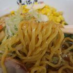 らーめん札幌直伝屋 - 帆立バターコーンラーメン(味噌)