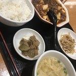 87151801 - 麻婆豆腐定食