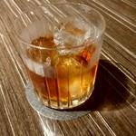 87152552 - 【2018.6.6(水)】バルメニューの紹興酒ロック