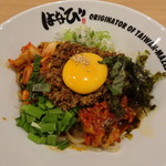 韓FOODs - 料理写真:韓流台湾まぜそば+KOREAN SLOW FOOD(880円)