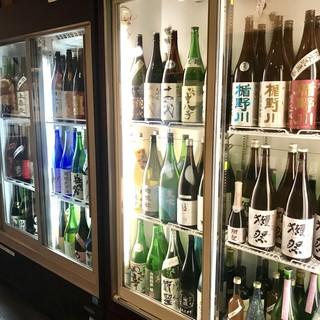 【厳選!和酒200種】日本酒、焼酎、梅酒の品揃えは自信あり!
