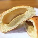 ブーランジェリー ブーシェ・ボヌール - ミルクティークリームパン