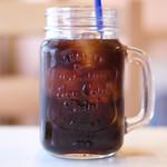 87162239 - 生パスタランチ 1000円 のアイスコーヒー