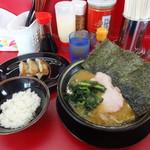 王道家 - ラーメンと餃子セット