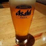 和餐 帯や 勘助 - 生ビール