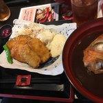 天然魚 鯛平 - 日替わり(鱧のフライ)