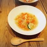 87164954 - スープ。家庭的な味でした (*ノ∀`*)