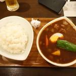87165096 - 黒スープカレー(チキン)