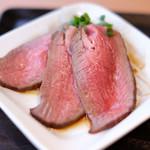 AKASAKA Tan伍 - TNGランチ 1000円 の牛タンのタタキ