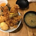 天吉屋 - 【天吉丼…1,200円】2018/5