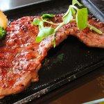 青葉亭 - 牛たんステーキ