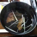 青葉亭 - テールスープ