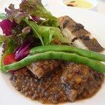 idee - 鯛のポワレ&牛バラ肉とレンズ豆の煮込み