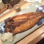 87175273 - 180508火 北海道 焼鶏舘 ほっけ開焼き750円