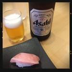 かっぱ寿司 - ビール&本鮪