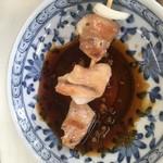 Hanayama - 甘酸っぱいタレに漬けて