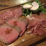 パルフィオーレ - 肉(値段の割にボリューム少ない(。-_-。))