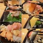 87179366 - 海鮮丼の具はいろいろあって、楽しめる