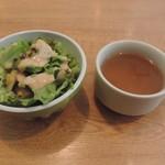 神田ビストロ style - サラダとスープ