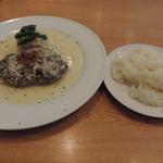 神田ビストロ style - ランチのstyle風ハンバーグステーキとライス