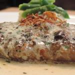 神田ビストロ style - style風ハンバーグステーキ 横から