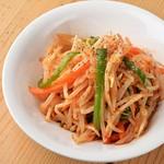 ピリ辛野菜炒め