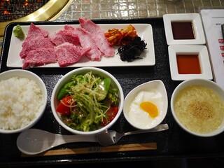 みやび 六本木店 - ランチの1000円焼肉
