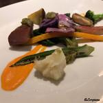 Yui - 季節の焼野菜の盛合せ