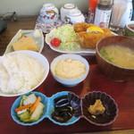 Wakaya 津屋 - まぐろかつ+卵焼き