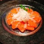 Luxury 個室 Dining VT - サーモンのハニーマスタードカルパッチョ