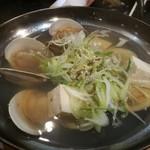 活魚卸直営の店 ニュー魚バカ三太郎 - う~ん、貝の旨味がイマイチ