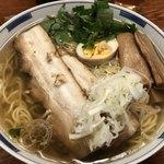 麺屋ひょっとこ - 和風柳麺670円 大盛160円