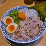 丸源ラーメン - 肉そば(たまご)