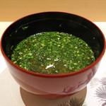 鮨 青海 - しじみ汁