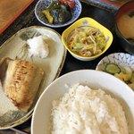 菊水 - ほっけ味噌漬け定食 700円
