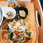 香辛喫茶 Lion Curry - セットのサラダ&小鉢