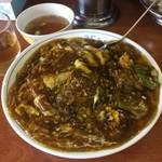 温品飯店 - 料理写真:カツカレー丼