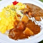 プラザ・屋台 - 料理写真:オムカレーライス