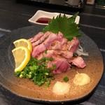 和鶏屋 - H.30.4.24.夜 百日鶏もも肉たたき 650円