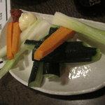 ばしゃやま亭 - ばしゃやま亭:生野菜
