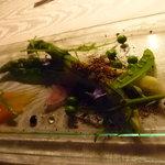 ヒカリヤ ニシ - 前菜 アスパラ