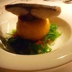ヒカリヤ ニシ - 魚料理 クロダイと丸ズッキーニのラタトゥユ