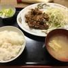 自由軒 - 料理写真:生姜焼き定食¥670