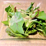 Organic Cafe あたたかなお皿 - ボウルランチ(有機野菜のサラダ)