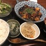 ゴリラ食堂 - 本格四川風麻婆豆腐定食